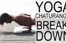 how to do the Chaturanga pose
