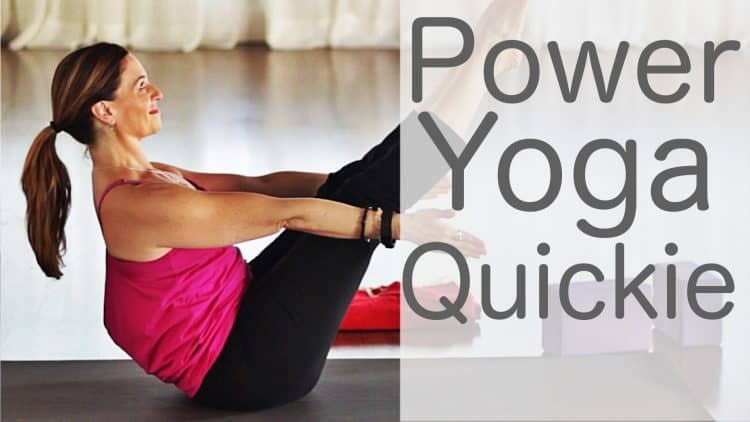 15 Minute Power Yoga Video with Lesley Fightmaster