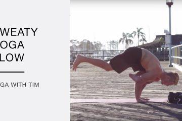 sweaty yoga flow