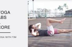 yoga routine for core and abs