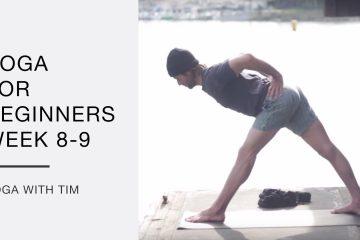 beginner's yoga sequence