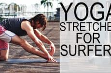 yoga stretches for surfers