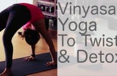 vinyasa flow for detox