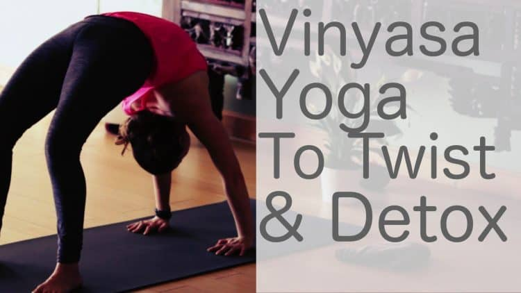 Vinyasa Yoga to Twist, Detox and Purify with Lesley Fightmaster [48 Min]