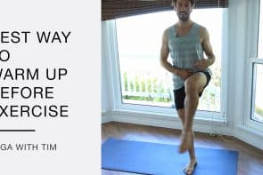 Warm up Before Yoga or Exercise [8 Min]