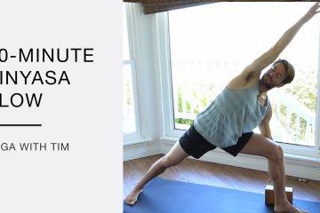 vinyasa flow for strength and flexibility