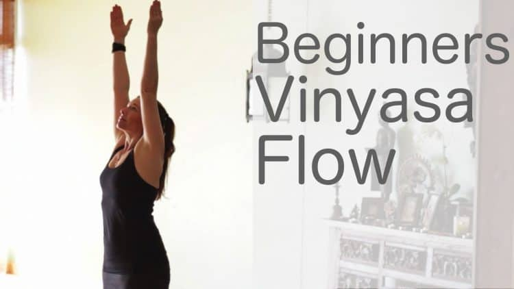 Yoga for Beginners Vinyasa Flow Free Yoga Class with Lesley Fightmaster [33 Min]