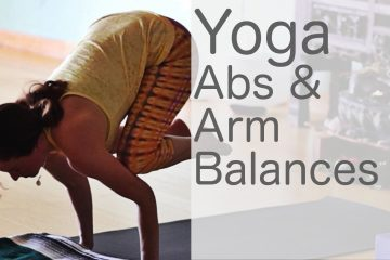 yoga routine for abs and arm balances