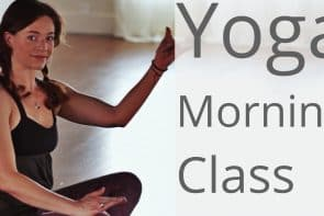 Morning Yoga for all Levels – with Lesley Fightmaster [38 Min]