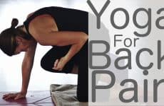 restorative yoga for back pain