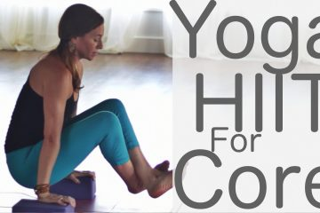 yoga HIIT for the core
