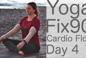 90 Day Yoga Challenge Day 4 Cardio Flow [18 Min]