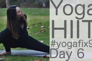 90 Day Yoga Challenge Day 6 Yoga HIIT [31 Min]