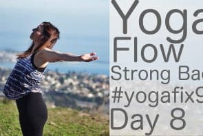 90 Day Yoga Challenge Day 8 Yoga Flow for a Strong Back [31 Min]