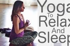 yoga to relax and sleep