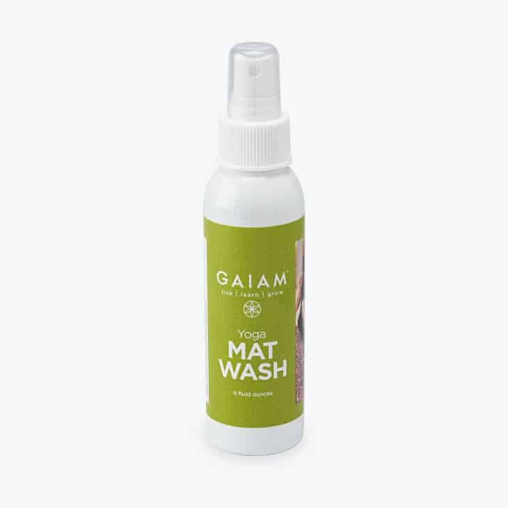Gaiam Yoga Mat Cleaner review