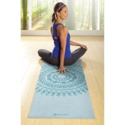 gaiam premium yoga mat review