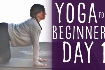 Yoga For Beginners 30 Day Challenge Day 1 With Lesley Fightmaster [15 Min]