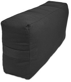 YogaAccessories Supportive Rectangular Yoga Bolster Reviews