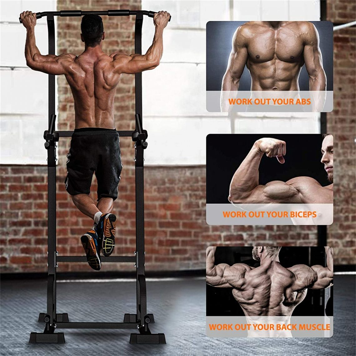 Sportsroyals-Power-Tower-Dip-Station-Pull-Up-Bar-for-Home-Gym-Strength-Training-Workout-Equipment-myfreeyoga.com